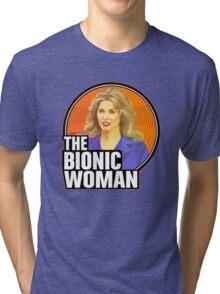 Bionic Woman Tri-blend T-Shirt