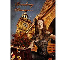 Broadway Dreams Photographic Print
