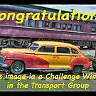 Entry Banner for Transport Group Challenge  by ECH52