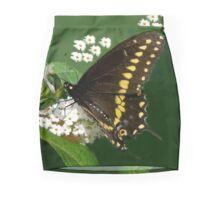 Eastern Black Swallowtail Butterfly Mini Skirt