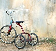 Old Child's Tricycle... by mitpjenkeating