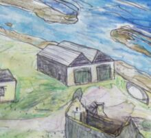 Convict Settlement, Norfolk Island Sticker