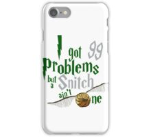 Serpent Problems iPhone Case/Skin