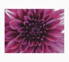 Purple Chrysanthemum Baby Tee
