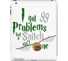 Serpent Problems iPad Case/Skin