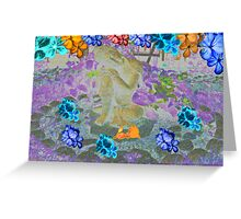 World of Peace Greeting Card