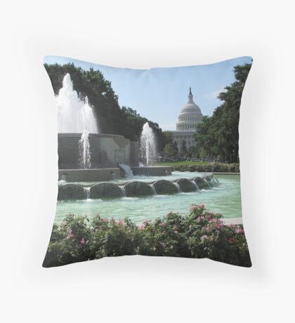 The Capitol, Washington, DC Throw Pillow