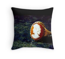 A Cameo Appearance Throw Pillow