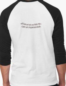 impersonator Men's Baseball ¾ T-Shirt
