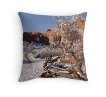 double arch is so grand Throw Pillow