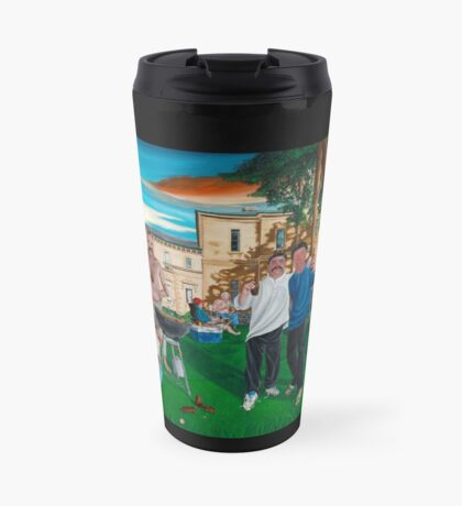 Summer Stumps at Rupertswood Mansion - The Birthplace of the Ashes Travel Mug