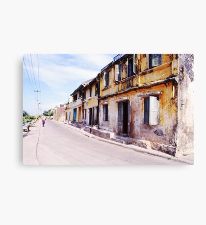 Streetscape Canvas Print