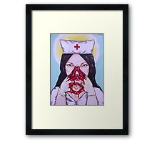 next patient! Framed Print