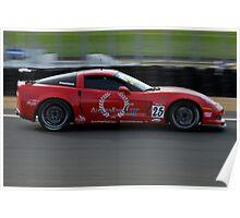 Australian GT Championship | Eastern Creek Raceway | Sports Car Carnival 2010 | Freestones Transport | Paul Freestone | Corvette Z06 Poster
