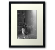 Empty Can Framed Print