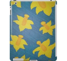 Pop Art Daffodils iPad Case/Skin