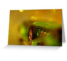 Driven To Abstraction Greeting Card