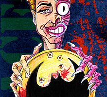 Two Face Harvey by Patricia Anne McCarty-Tamayo