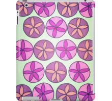 Pink and Purple Flower Pattern iPad Case/Skin