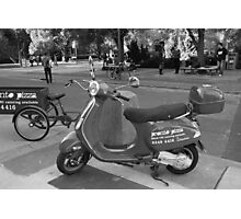 Vintage Motorcycle Photographic Print