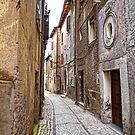 Still Walking in Gavigano Italy by Warren. A. Williams