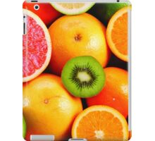 Colorful Citrus Fruits iPad Case/Skin