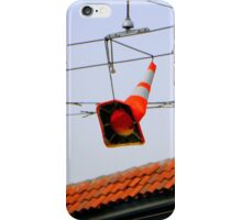 Hanging Shoes, Not Quite Right iPhone Case/Skin