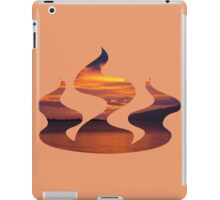 red sky in the morning iPad Case/Skin