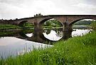 Bridge over the River Ribble by inkedsandra