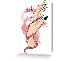 Let Your Shewolf Flow #4 Greeting Card