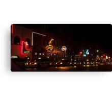 Nashville Nights Canvas Print