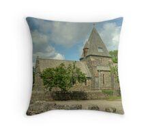 Finsthwaite Church Throw Pillow