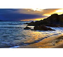 Shimmering Sunset Photographic Print