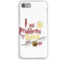 LION PROBLEMS iPhone Case/Skin