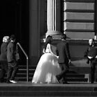 The Shoe, the Photographer and the Bride by Ell-on-Wheels