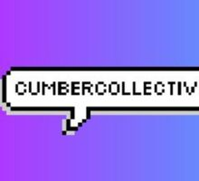 Cumbercollective Pixel Speech Bubble Sticker