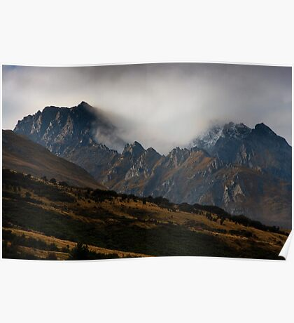 Glenorchy Mountains Poster