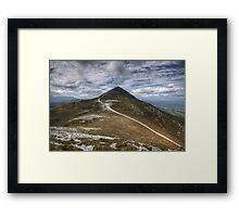 Croagh Patrick view Framed Print