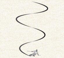 Ski lines by David Geoffrey Gosling (Dave Gosling)