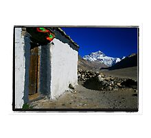 The Highest Mountain from the Highest Monastery Photographic Print