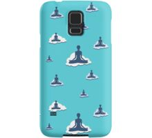 Yoga Sky Clouds Meditation design. Samsung Galaxy Case/Skin