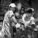 Songkran in Bangkok (5) by Laurent Hunziker