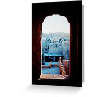 Jaisalmer Greeting Card