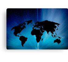 Clear Earth Canvas Print