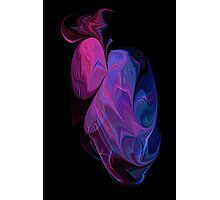 Fractal Heart Photographic Print