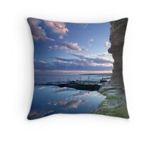 Bogey Hole Reflection, Newcastle Throw Pillow