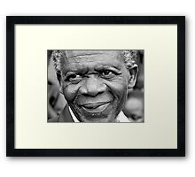 Man from Malawi Framed Print