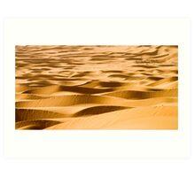 Ribbons of Sand Art Print
