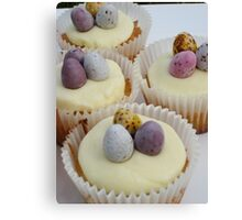Easter Cakes Canvas Print