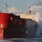 Stranded Tanker by jaskel